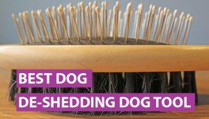 best dog deshedding tool